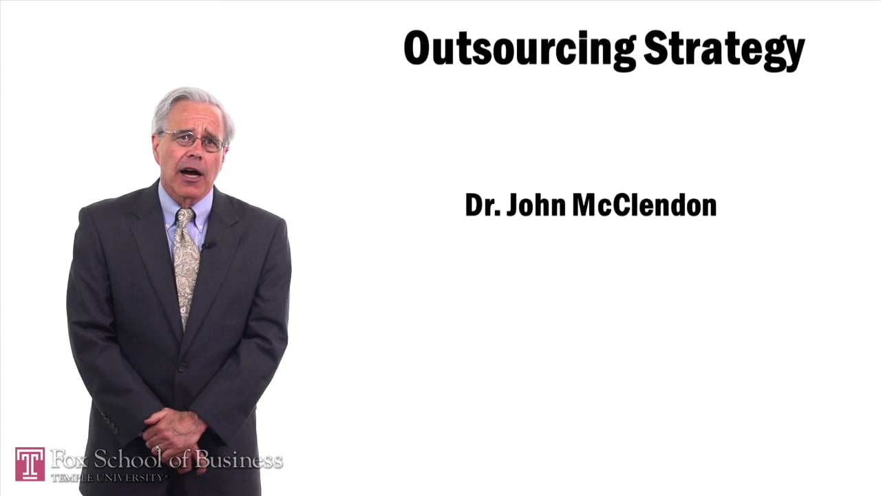 57466Outsourcing Strategy