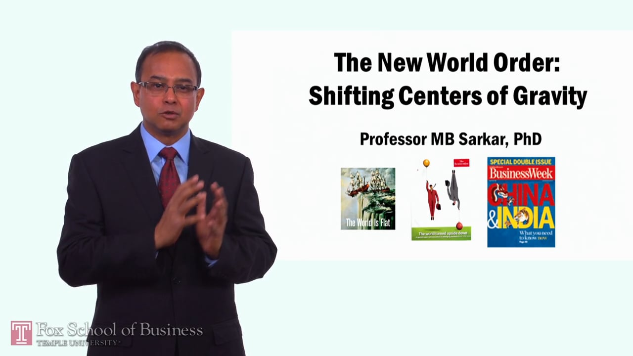58295The New World Order – Shifting Centers of Gravity