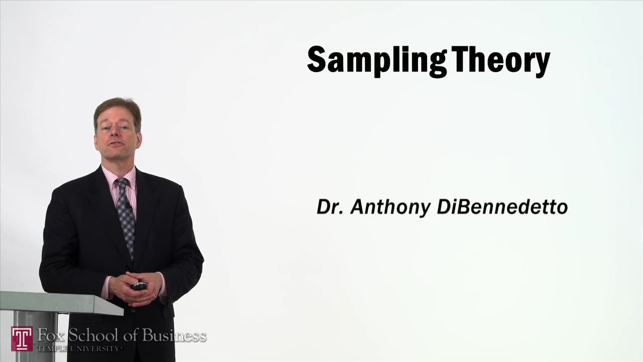 57354Sampling Theory