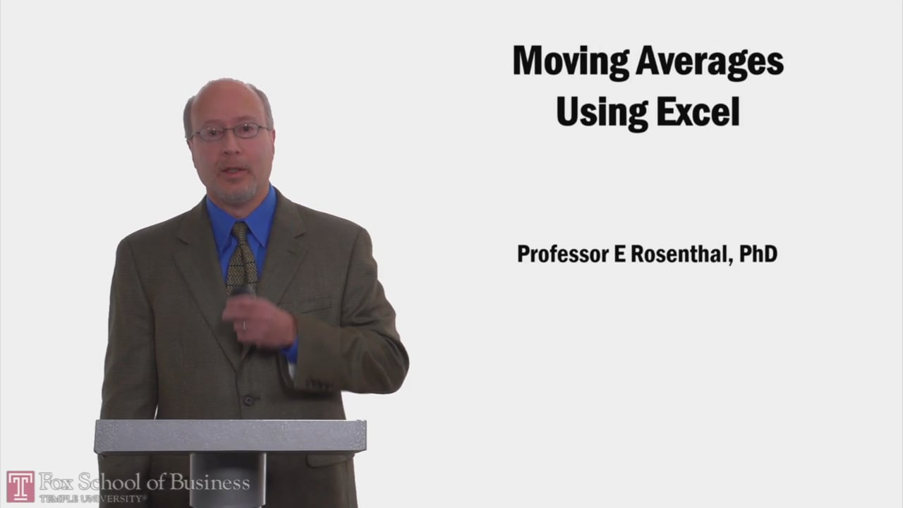 58205Moving Averages in Excel