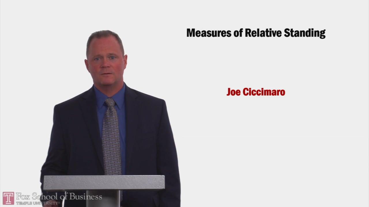 58171Measures of Relative Standing