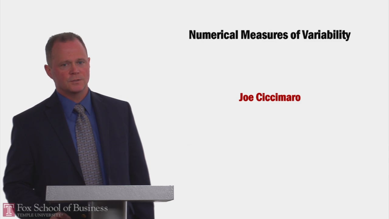 58172Numerical Measures of Variability
