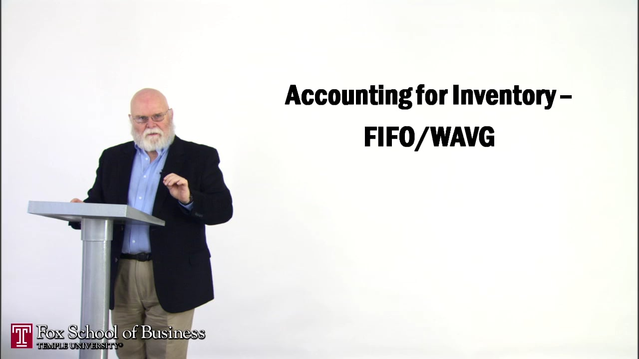 57147Accounting for Inventory – FIFO WAVG