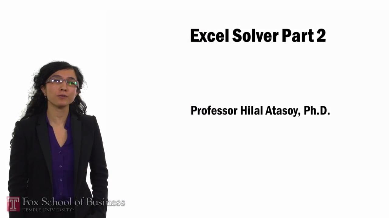 57767Excel Solver Part 2