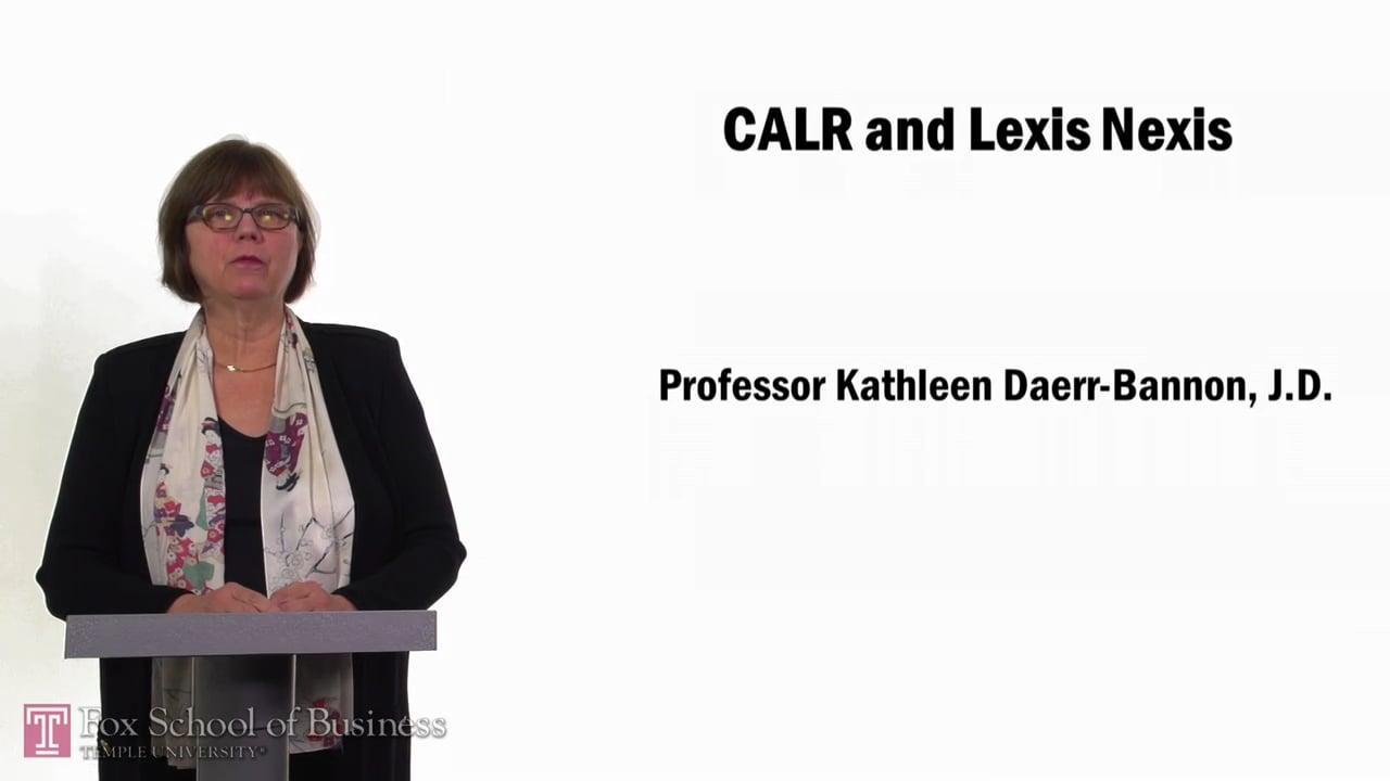 57664CALR and LexisNexis