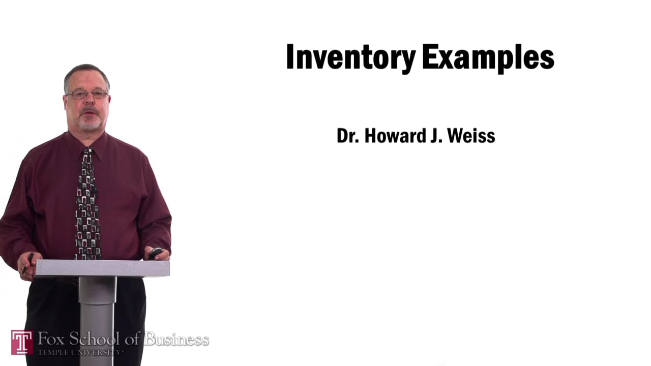 57532Inventory Examples