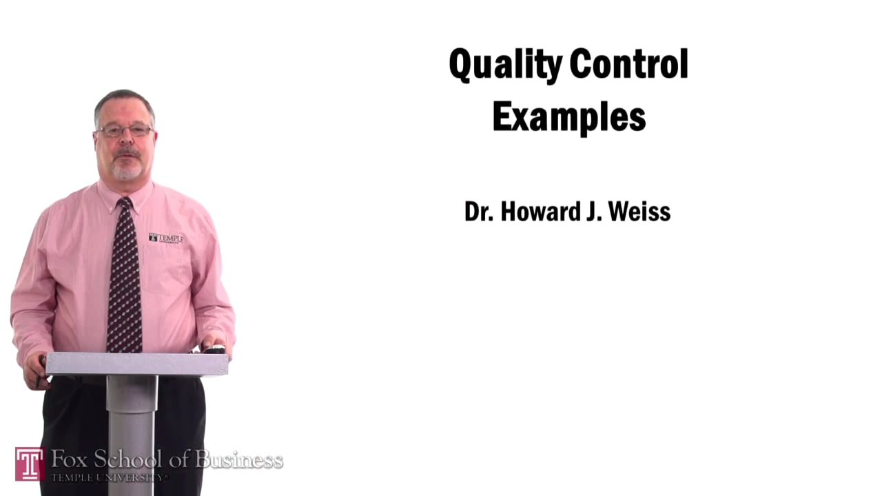 57508Quality Control Examples