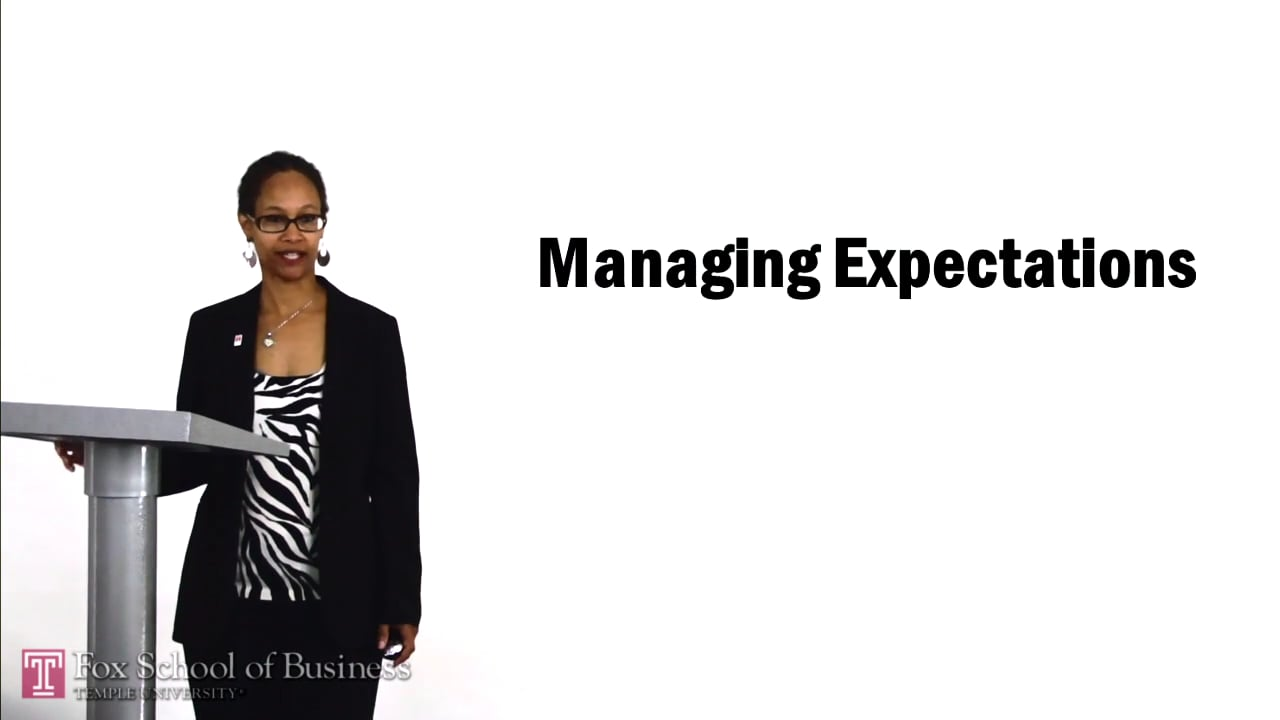 56976Managing Expectations