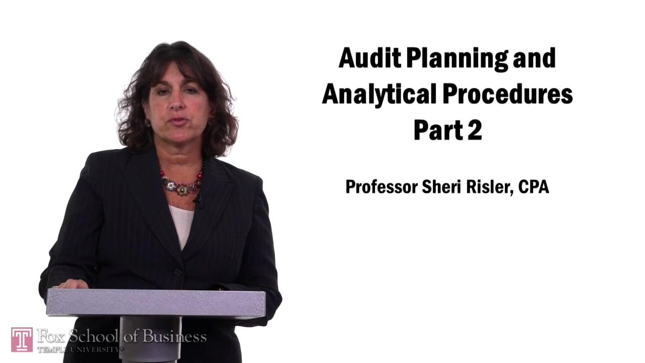 57633Audit Planning   Analytical Procedures Part 2