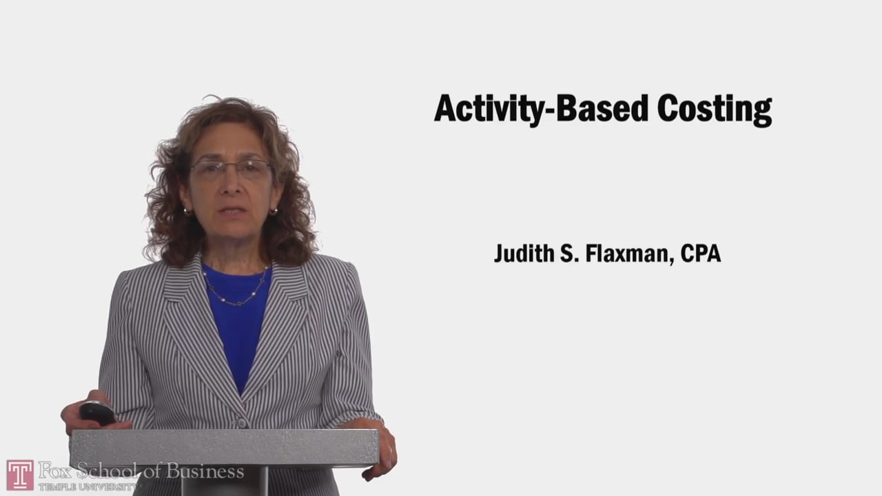 58095Activity-Based Costing