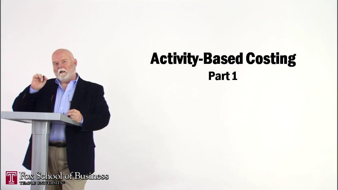 56841Activity-Based Costing I