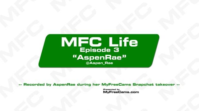 Conoce en su vida normal a Aspen Rae
