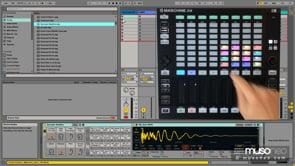 Maschine JAM jako kontroler Ableton Live 9