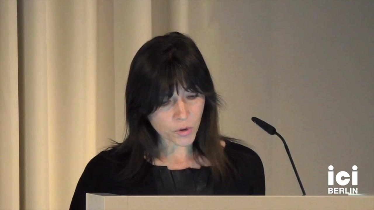 Talk by Esra Akcan