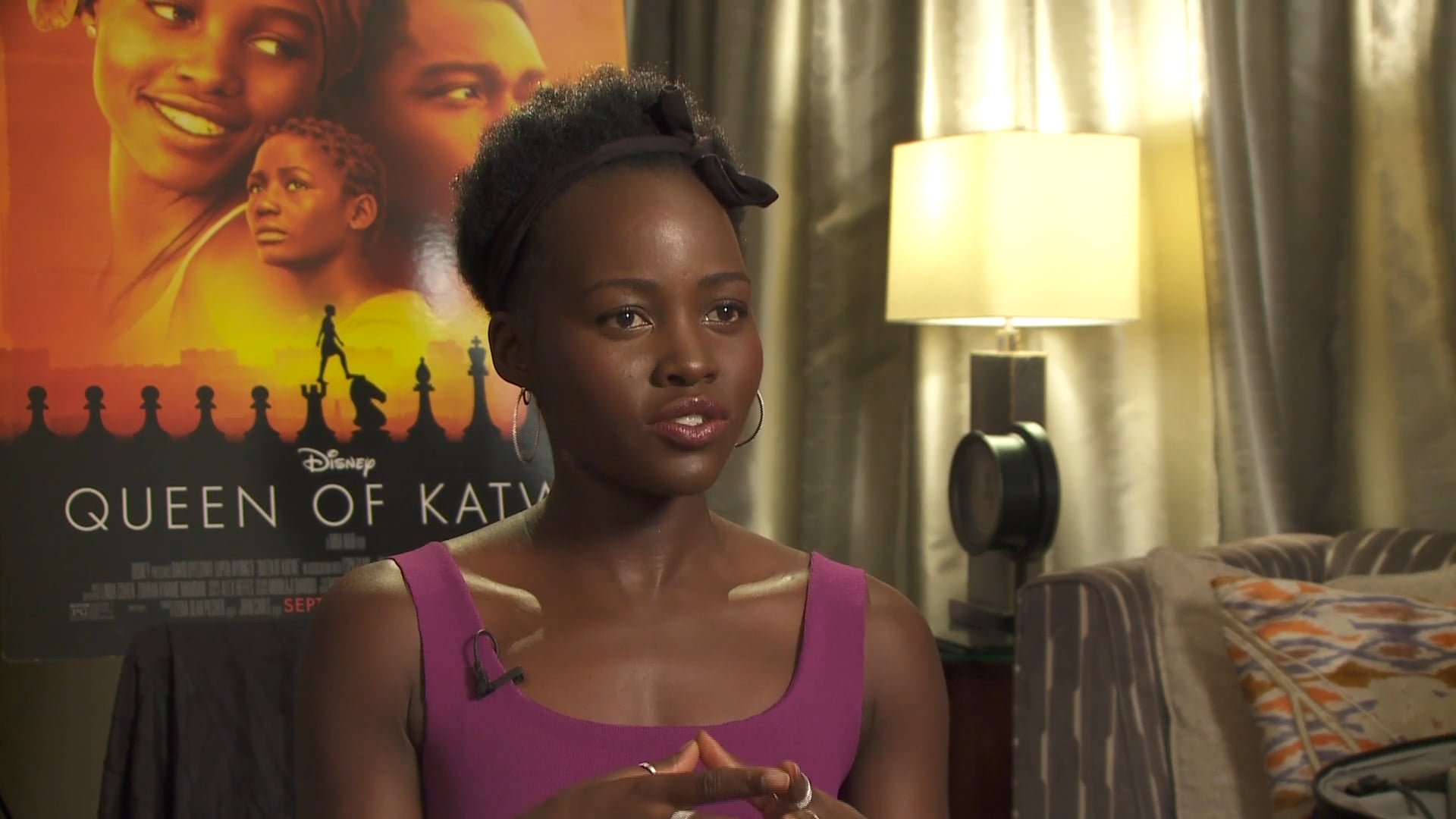 Lupita Nyong'o Intervew