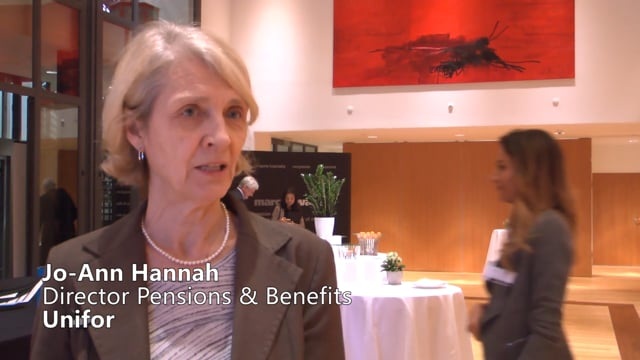 Jo-Ann Hannah, Unifor Discusses the Advantages of Keeping the Defined Benefit Pension Plan