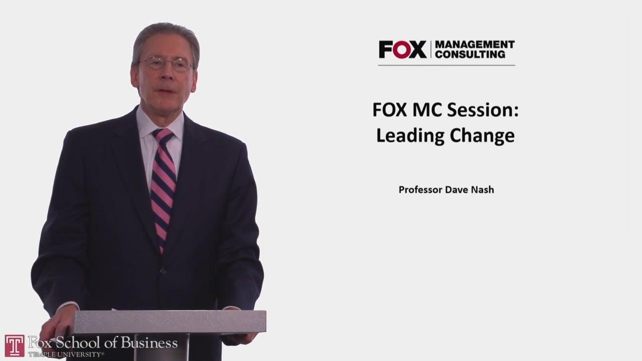 58049Fox MC Session: Leading Change