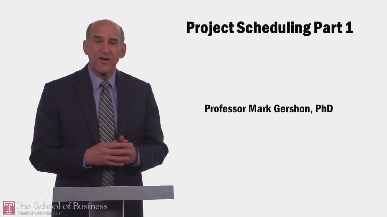 57950Project Scheduling PT1