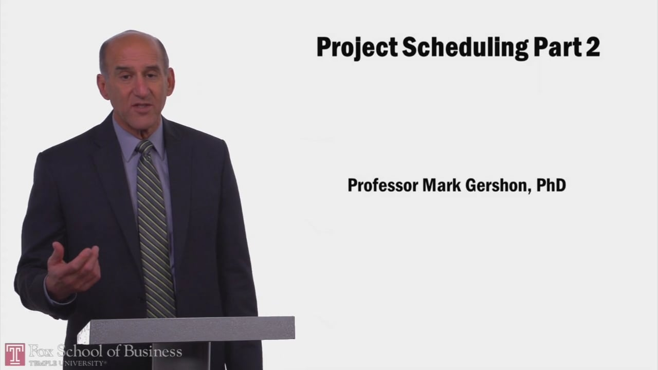 57951Project Scheduling PT2