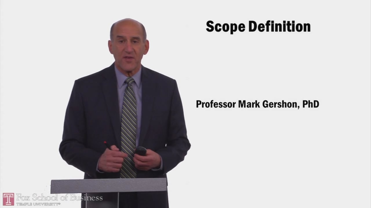57952Scope Definition
