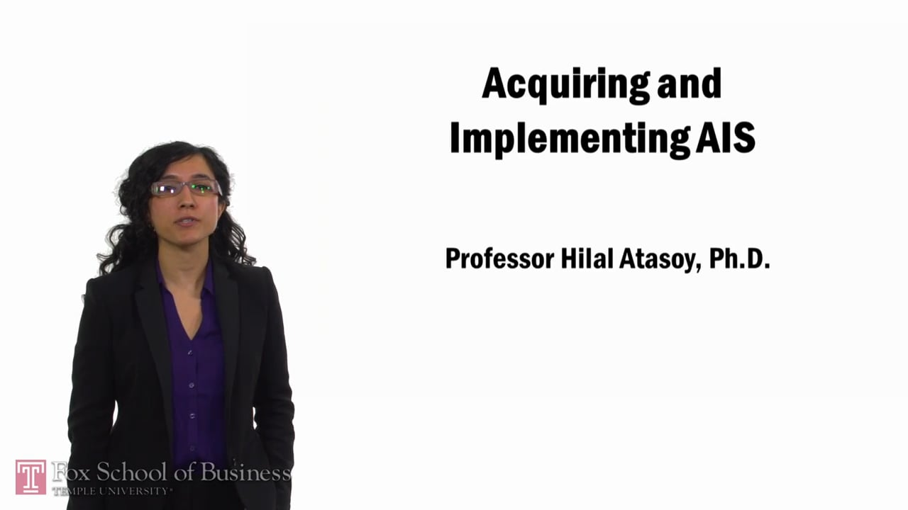 57762Acquiring and Implementing AIS