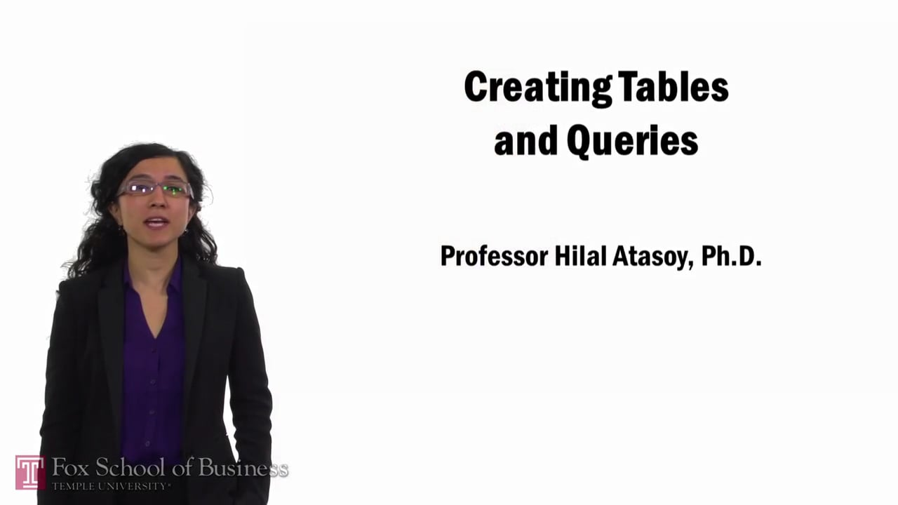 57737Creating Tables and Queries
