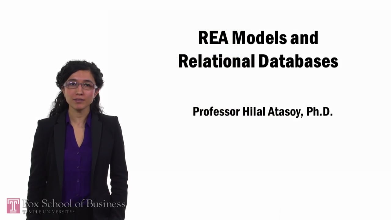 57739REA Models and Relational Databases