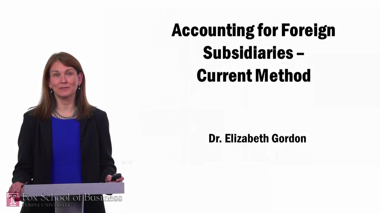 57671Accounting for Foreign Subsidiaries pt1