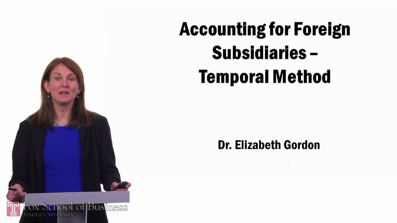 57672Accounting for Foreign Subsidiaries pt2