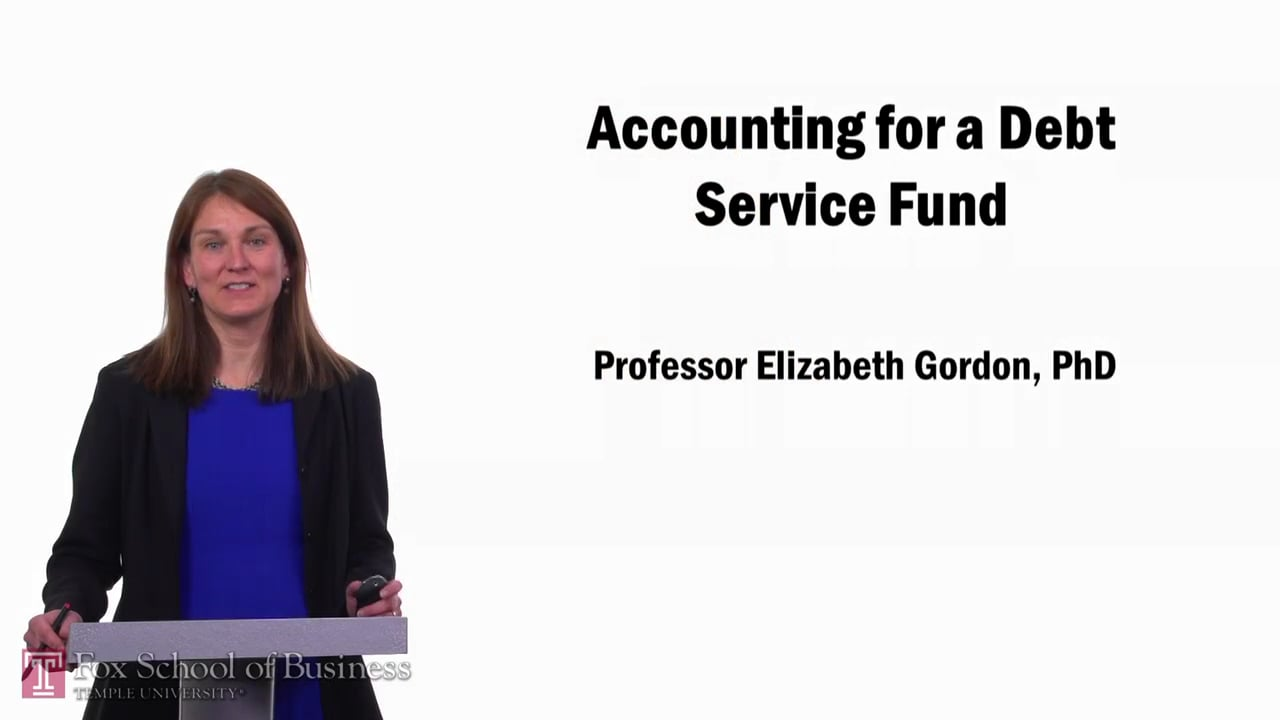 57670Accounting for a Debt Service Fund
