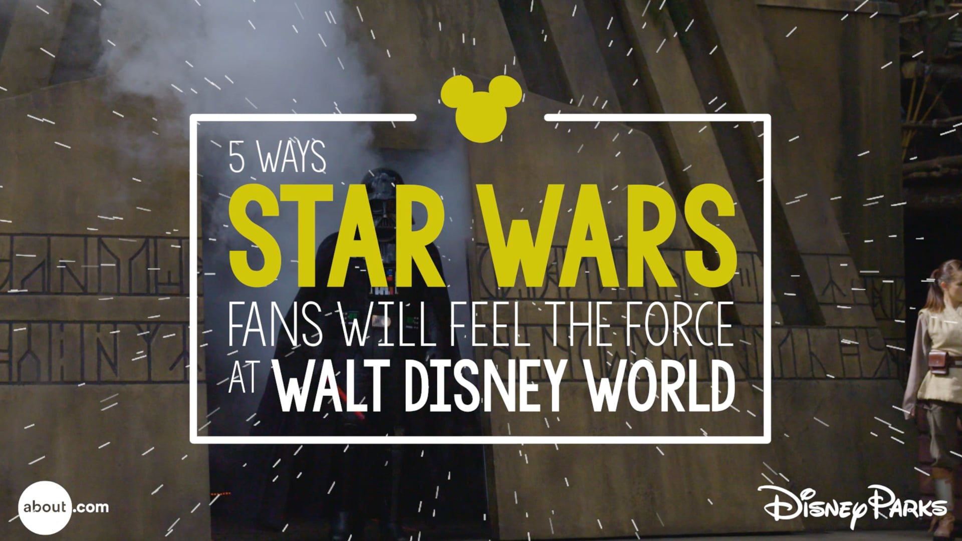 5 Ways Star Wars Fans Will Feel the Force at Walt Disney World