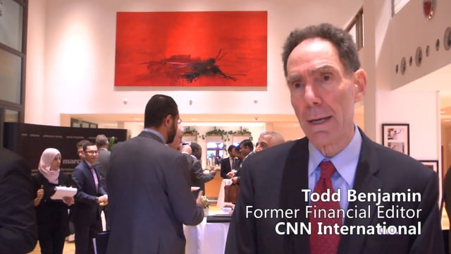 Todd Benjamin, Formerly CNN International on Uncertainty as the Prevailing Theme for Investors