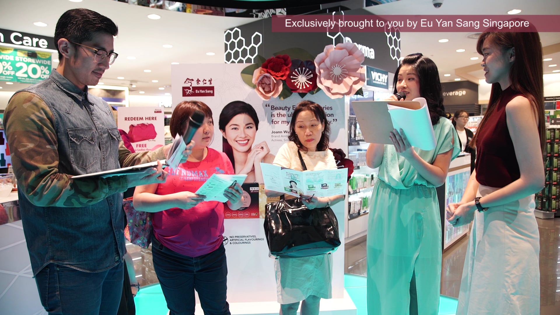 Eu Yan Sang Beauty Essence Series Watson Launch Takashimaya