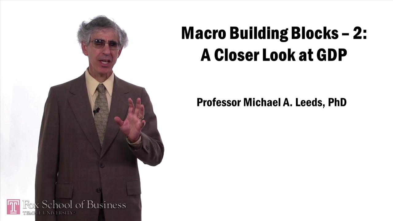57641Macro Building Block: A Closer Look at GDP