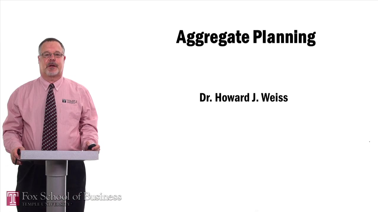 57536Aggregate Planning