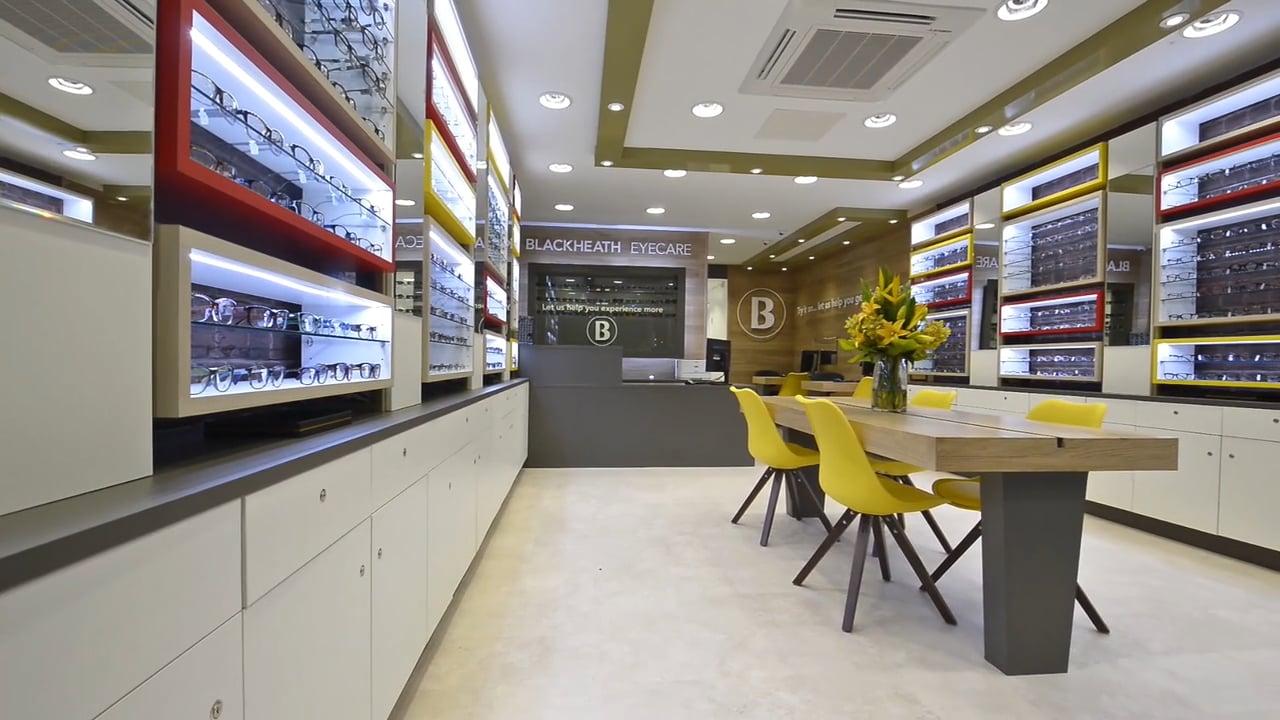 Eyecare retail interior