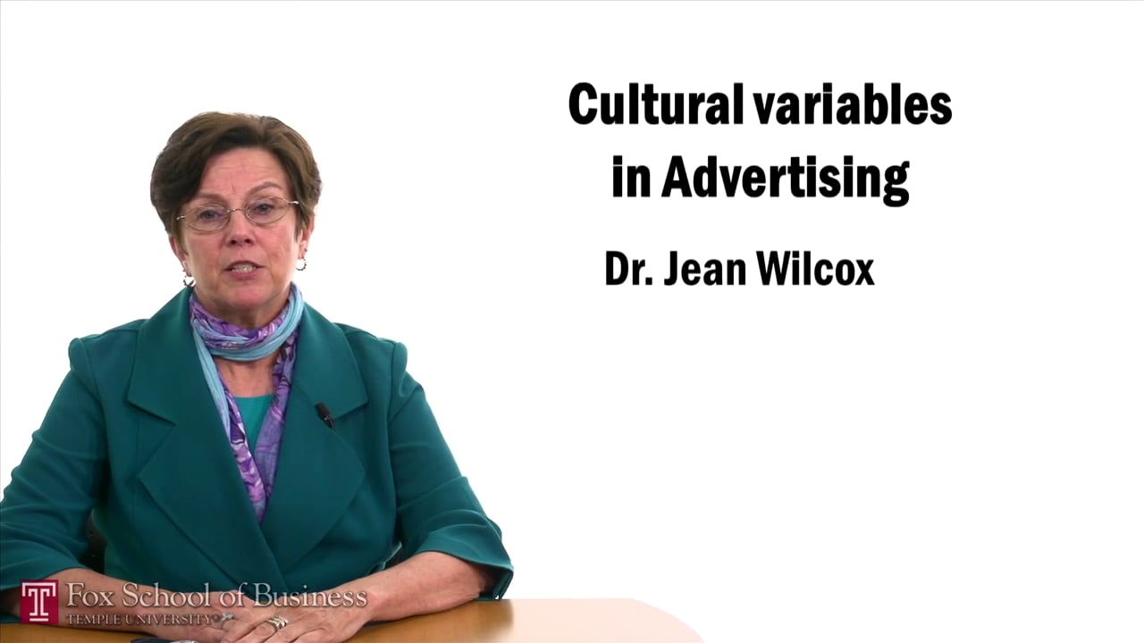 57474Cultural Variables in Advertising