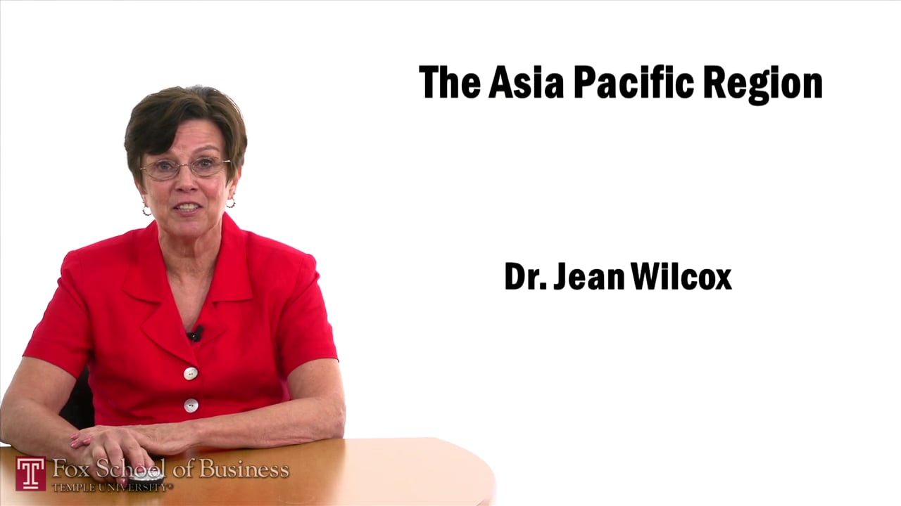57444The Asia Pacific Region – China