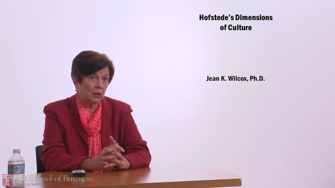 57426Hofstede's Dimensions of Culture