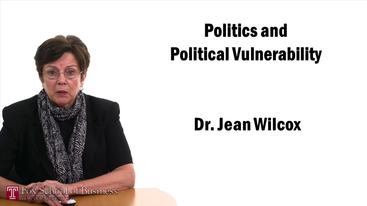 57418Politics and Political Vulnerability
