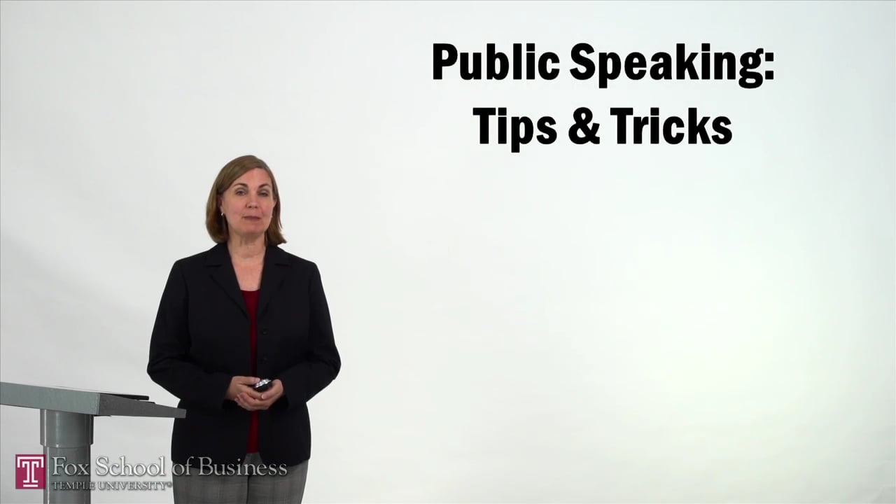 57343Public Speaking – Tips and Tricks