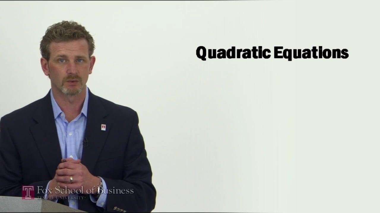 57283Quadratic Equations