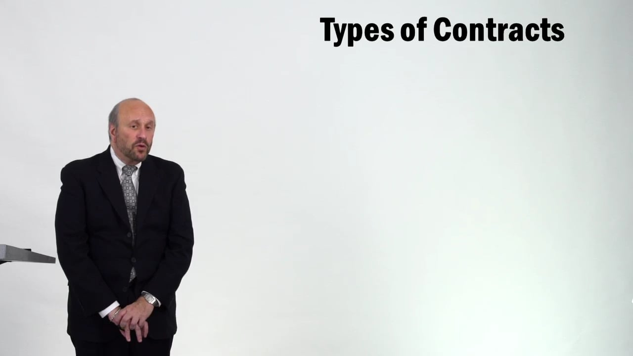 57237Types of Contracts