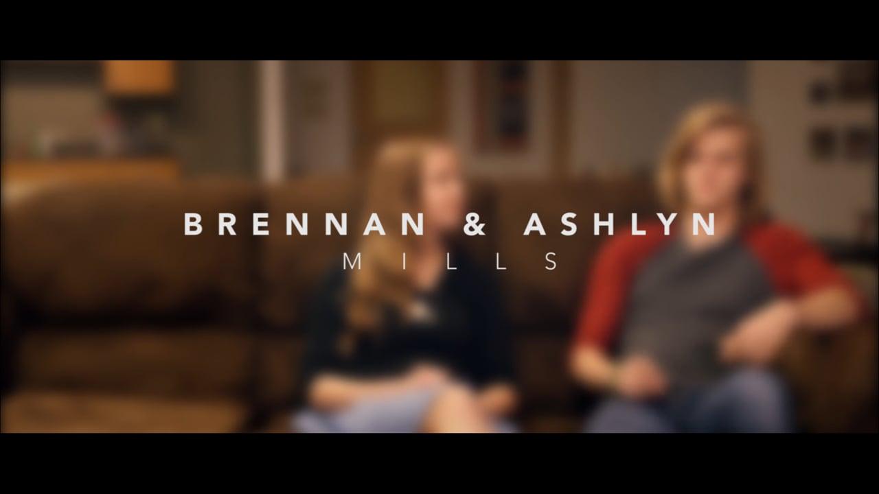 Christ Church Stories: Brennan & Ashlyn Mills