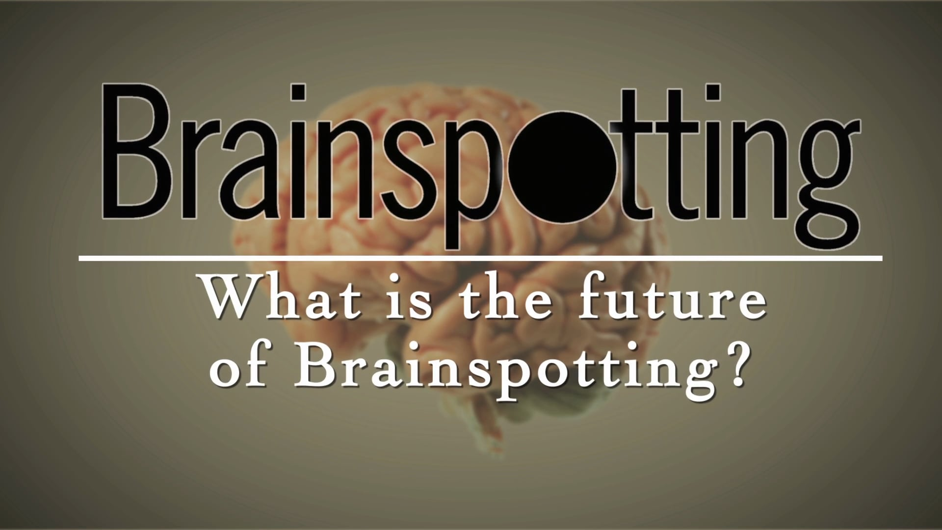 What is the future of Brainspotting?