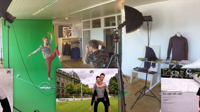 «Fotoshooting» Making of Filmproduktion