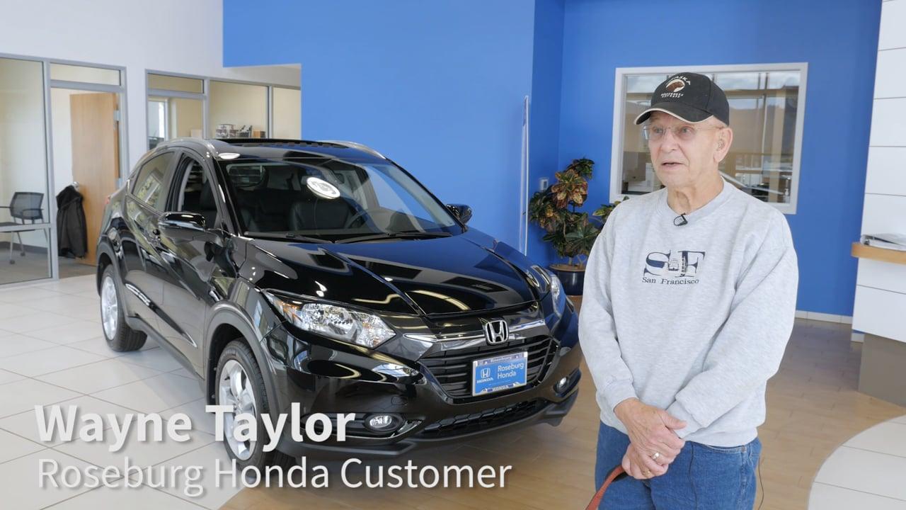 Roseburg Honda - Customer Testimonial - Courtesy of Rytec
