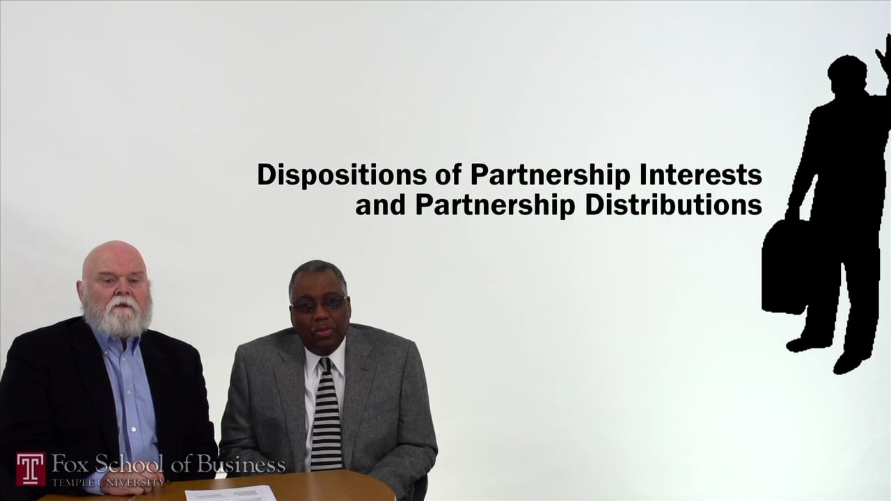 57165Dispositions of Partnership Interests and Partnership Distributions