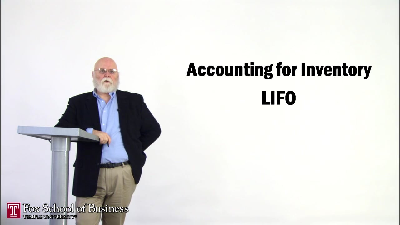 57148Accounting for Inventory LIFO