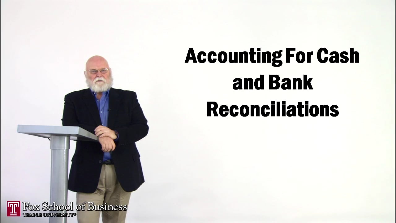 56873Accounting for Cash and Bank Reconciliation